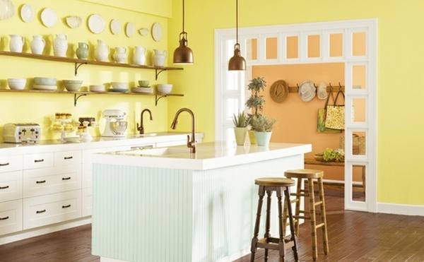 Sự kết hợp hài hòa màu pastel mềm mại nhẹ nhàng