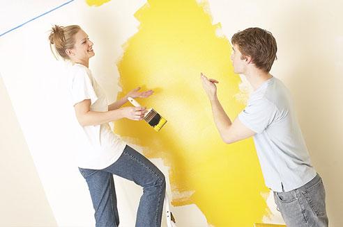 Dịch vụ sơn nhà cũ, sơn sửa nhà cũ, bền đẹp