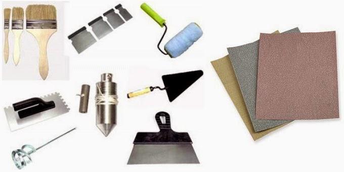 bộ dụng cụ sơn nhà, đồ nghề lăn sơn