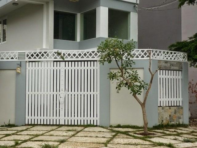Nhận sơn hàng rào sắt, chuồng cọp, cổng sắt