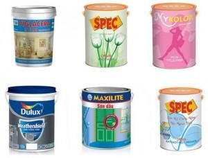 sơn nhà, sơn nước giá rẻ